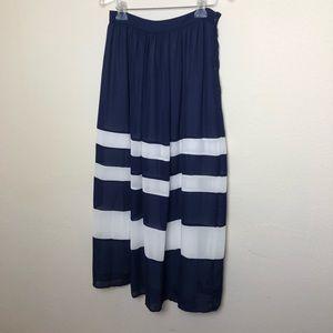 Anthropologie Skirts - Anthropologie Sunday in Brooklyn Striped Skirt